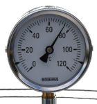 thermometre cuve inox brasserie