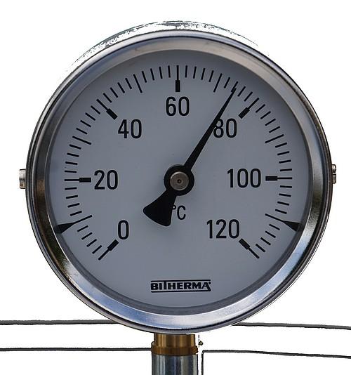 Thermomètre INOX Cuve