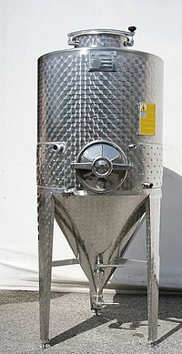 CYLINDRO CONIQUES - FERMENTEURS INOX