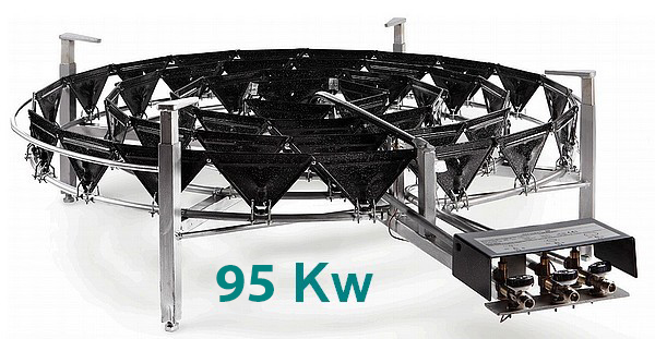 BRULEURS GAZ PRO - 95 Kw