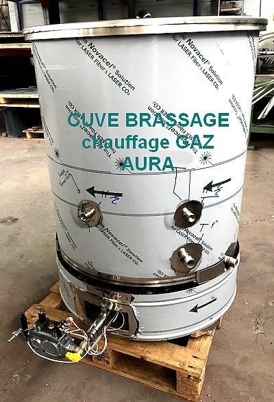 cuve brassage gaz INOX
