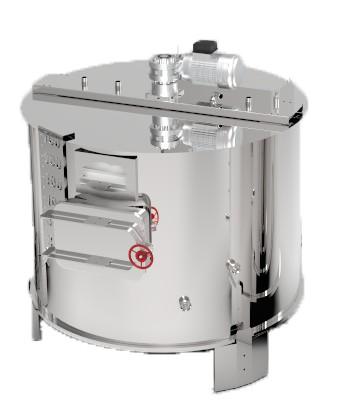 cuve de brassage brasserie avec chauffage electrique inox alimentaire