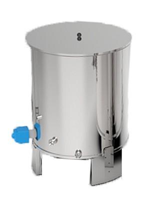 cuve eau chaude pour brasserie avec chauffage electrique inox alimentaire