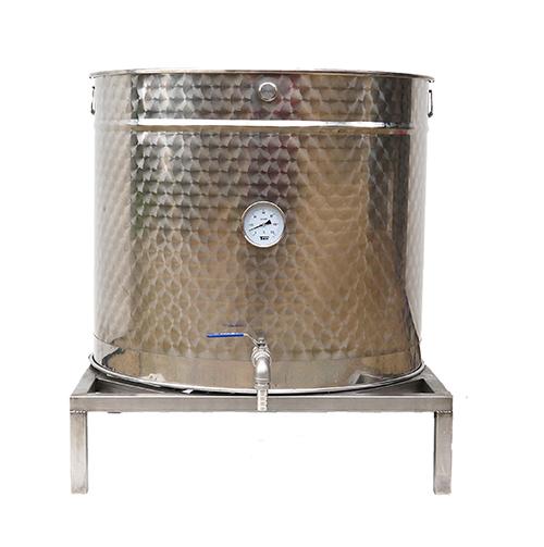 cuve-inox-marmite-piquage-thermometre-trepied-brasserie