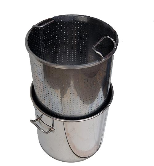 cuve-inox-gaz-panier-perfore