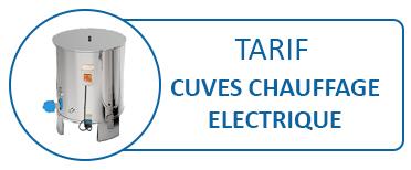 Devis / Tarif CUVES Chauffage ELECTRIQUE