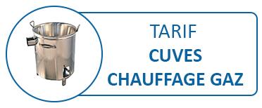 Devis / Tarif CUVES Chauffage GAZ