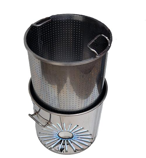 CUVE et paniers perforés - 20 à 60 litres